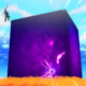 Fortnite | Cubo roxo misterioso surge no mapa do game