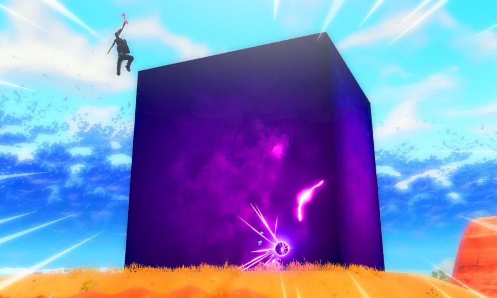 Fortnite | Cubo roxo misterioso surge no mapa do game