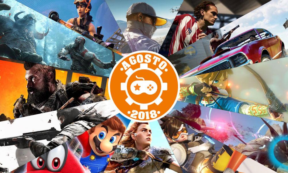 Games | Os lançamentos mais aguardados de agosto 2018
