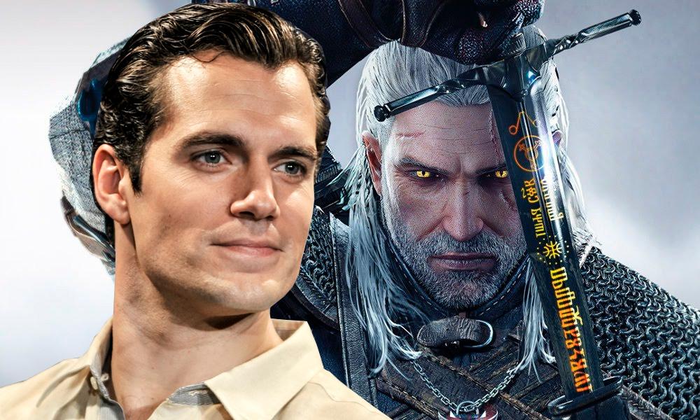 Ator Henry Cavill quer interpretar Geralt na série de The Witcher