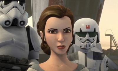 Nova série Star Wars Resistance contará com a presença de Leia Organa