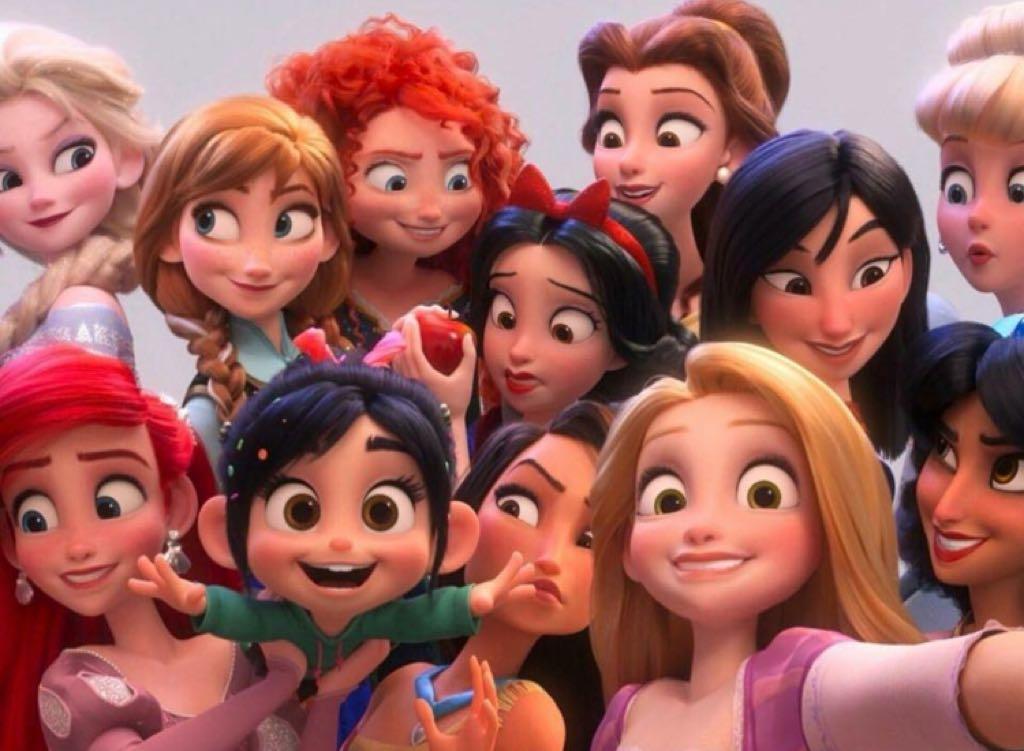 WiFi Ralph   Pôster japonês tem as Princesas Disney como destaque