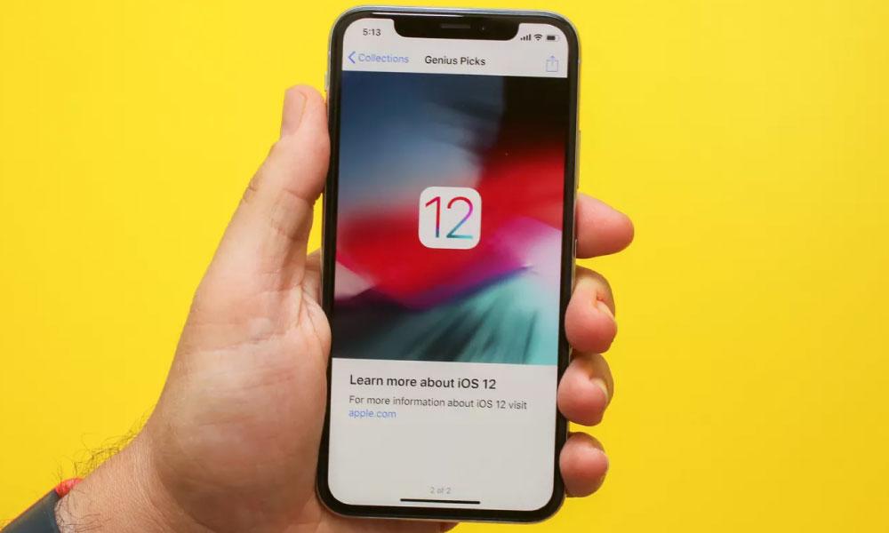 iOS 12 | Apple libera nova versão do seu sistema operacional