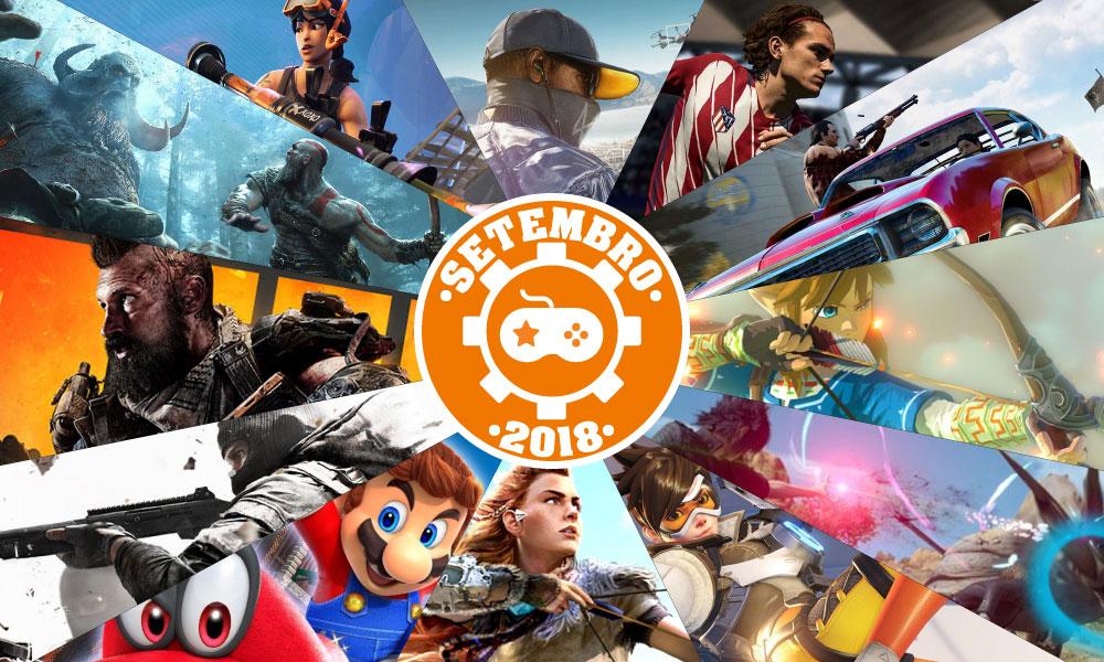Games | Os lançamentos mais aguardados de setembro 2018