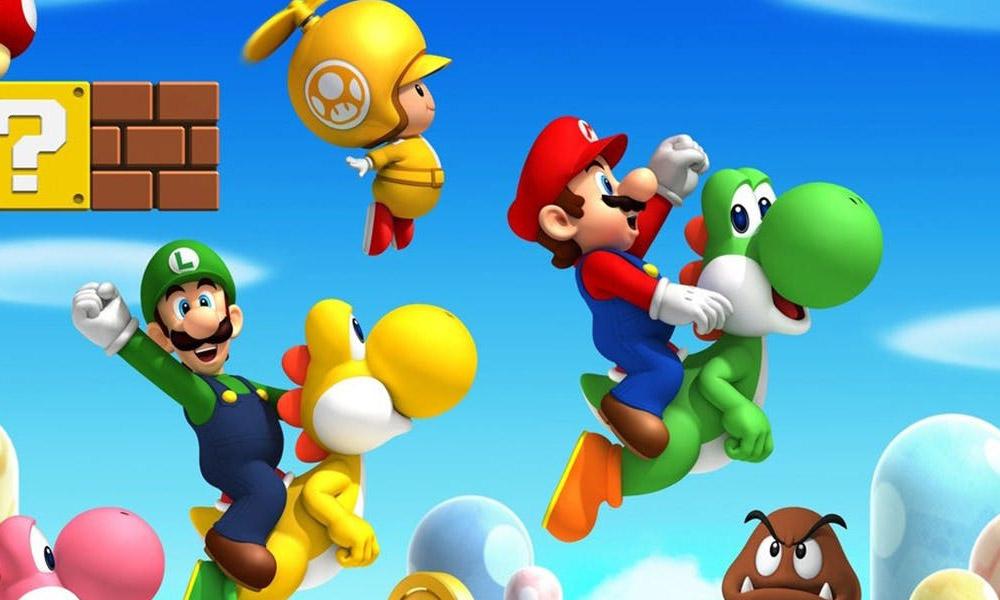 New Super Mario Bros U Deluxe é anunciado para o Nintendo Switch