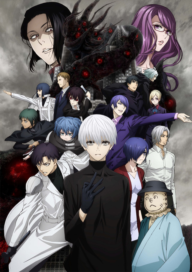 Tokyo Ghoul:re | 2ª temporada do anime ganha data de estreia