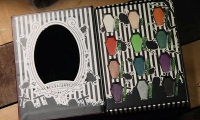 Halloween   Hot Topic lança maquiagem especial do Beetlejuice