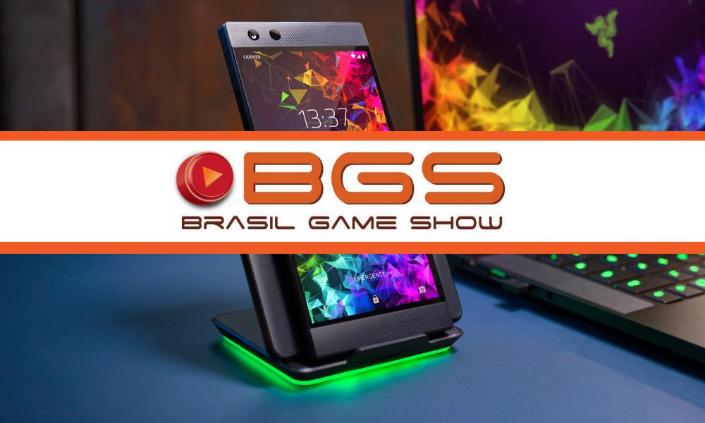 BGS 2018   Conheça o mais novo smartphone gamer da Razer