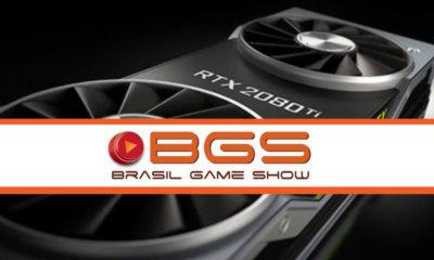 BGS 2018 | Geforce RTX 2080 é destaque no estande da Nvidia