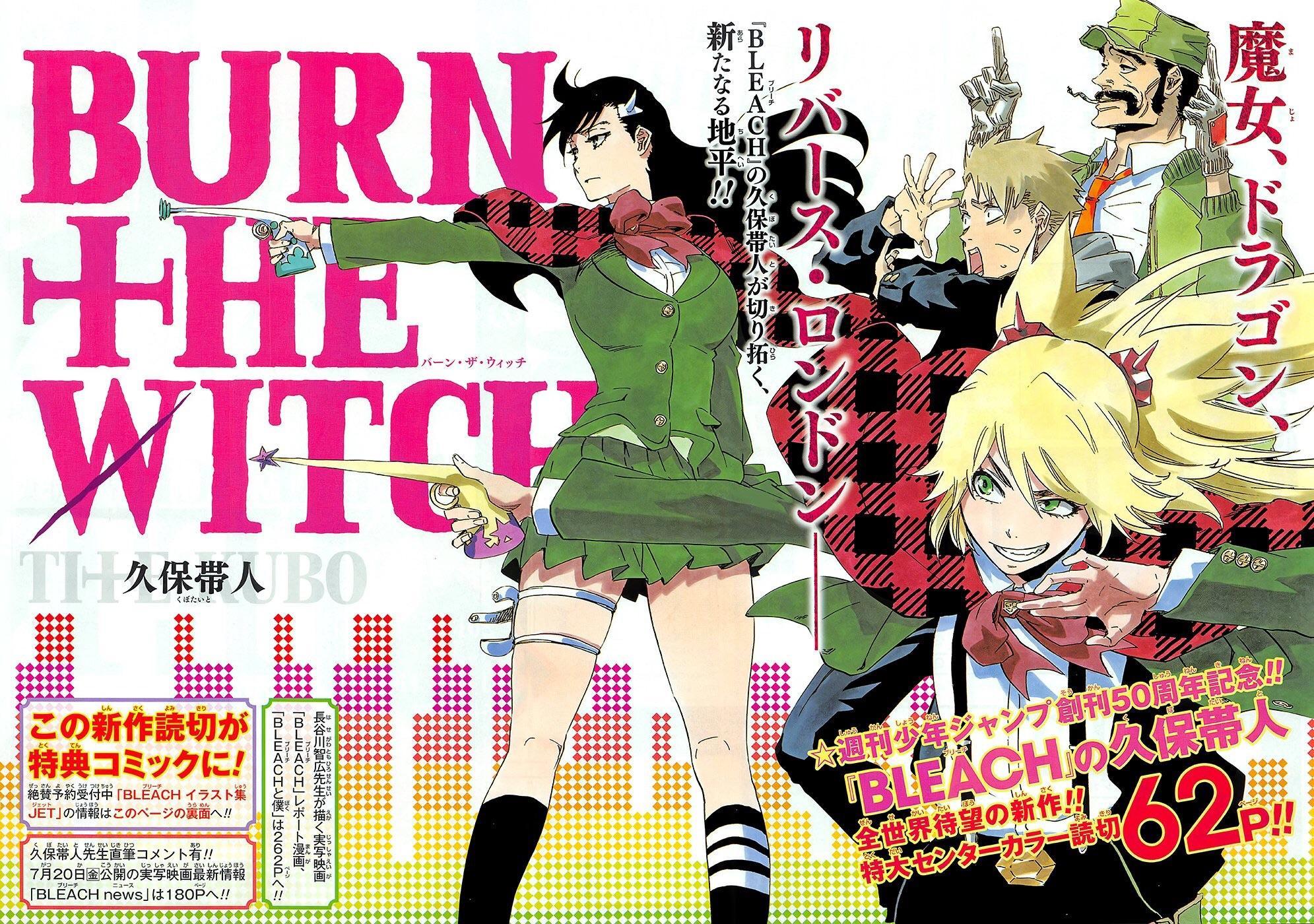 Rukia, de Bleach, surge em nova ilustração de BURN THE WITCH