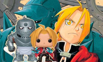 Funko anuncia novas figuras POP! do anime Fullmetal Alchemist