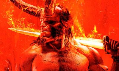 Hellboy | Primeiro poster oficial do reboot é divulgado e impressiona