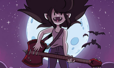 HQ spin-off de Hora de Aventura traz Marceline como protagonista