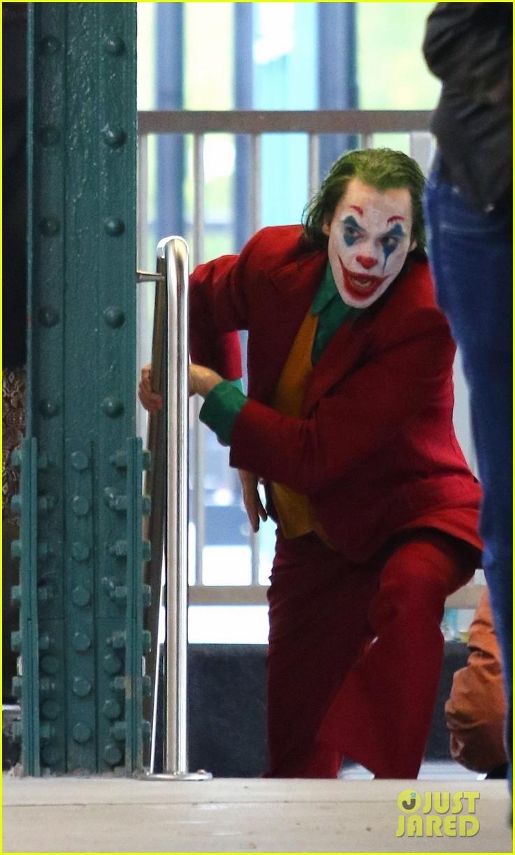 Joker | Reveladas novas fotos das gravações do filme do Coringa. Confira