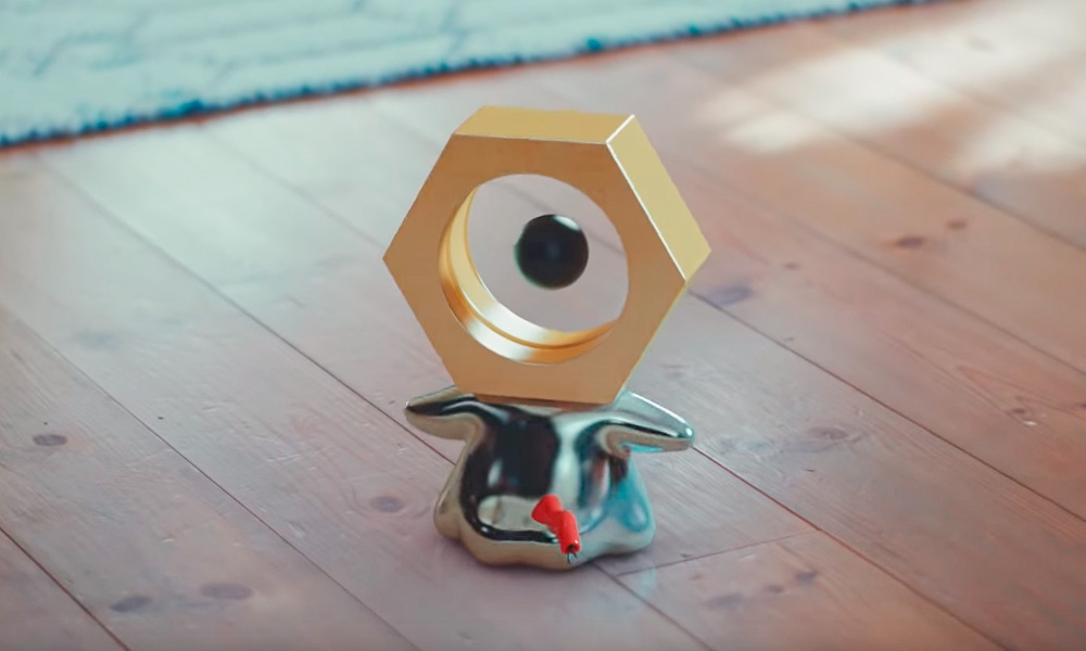 Nintendo libera mais detalhes sobre Meltan, o novo pokémon lendário