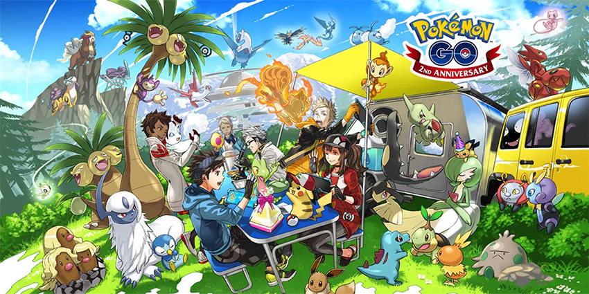 Pokémon Go   Monstrinhos da 4ª geração estão chegando ao game
