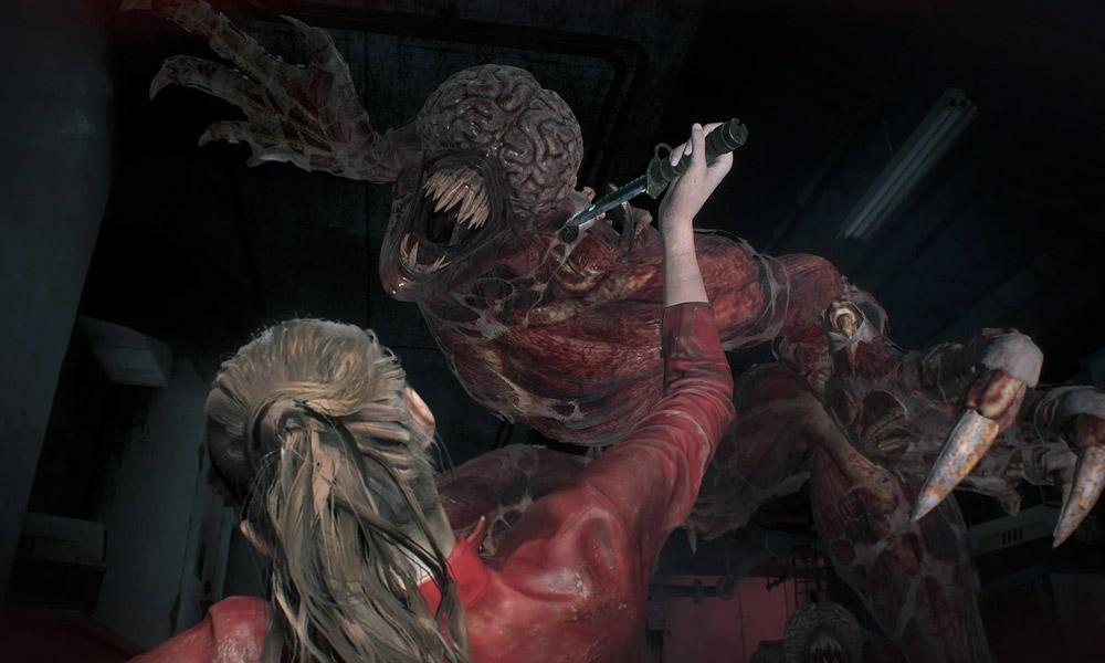 Resident Evil 2 | Novo vídeo mostra Claire enfrentando Lickers