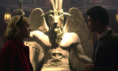 Templo Satânico decide processar a série O Mundo Sombrio de Sabrina por copiar estátua do Baphomet