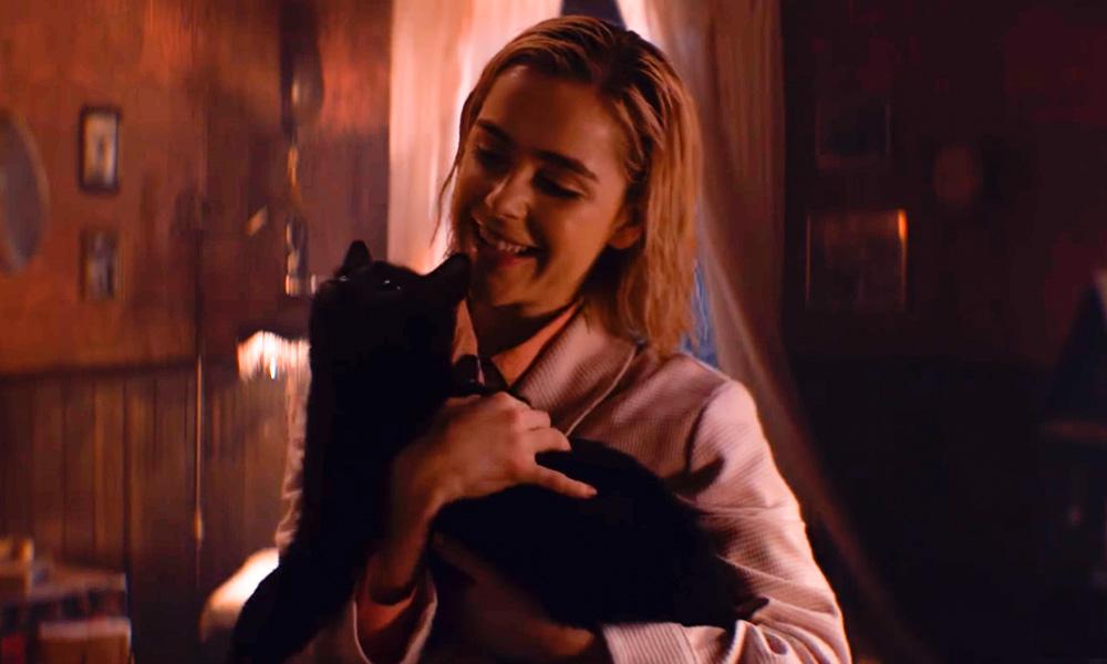 O Mundo Sombrio de Sabrina | Teaser mostra o encontro de Sabrina com Salem