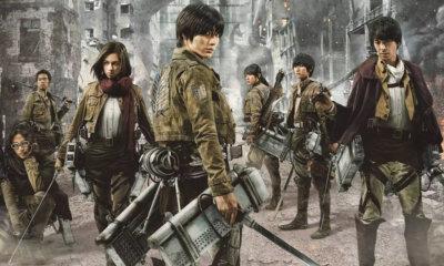 Attack on Titan   Netflix incluiu os dois filmes live-action em seu catálogo