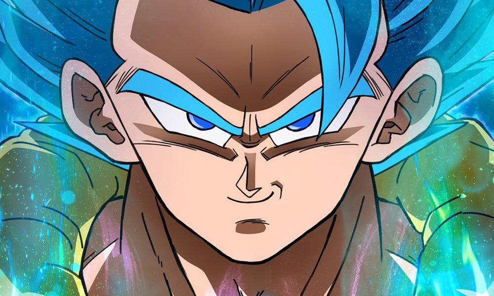 Dragon Ball Super: Broly   Gogeta Blue é destaque em novo poster