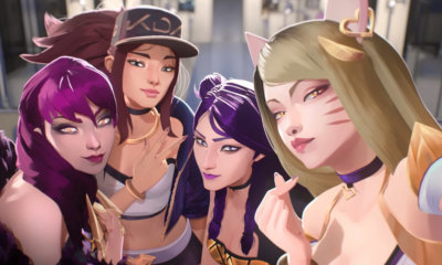 Grupo K-Pop K/DA faz sucesso com skins especiais em League of Legends