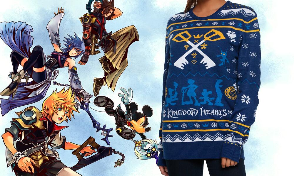 BoxLunch lança suéter temático da franquia Kingdom Hearts