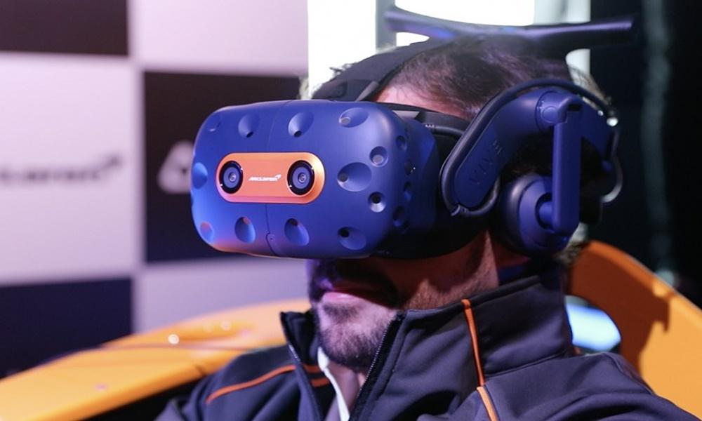 eSports | McLaren e HTC lançam headset VR para corridas virtuais