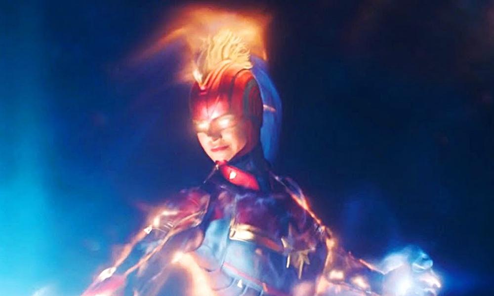 Capitã Marvel | Pôster e trailer revelados geram críticas na internet