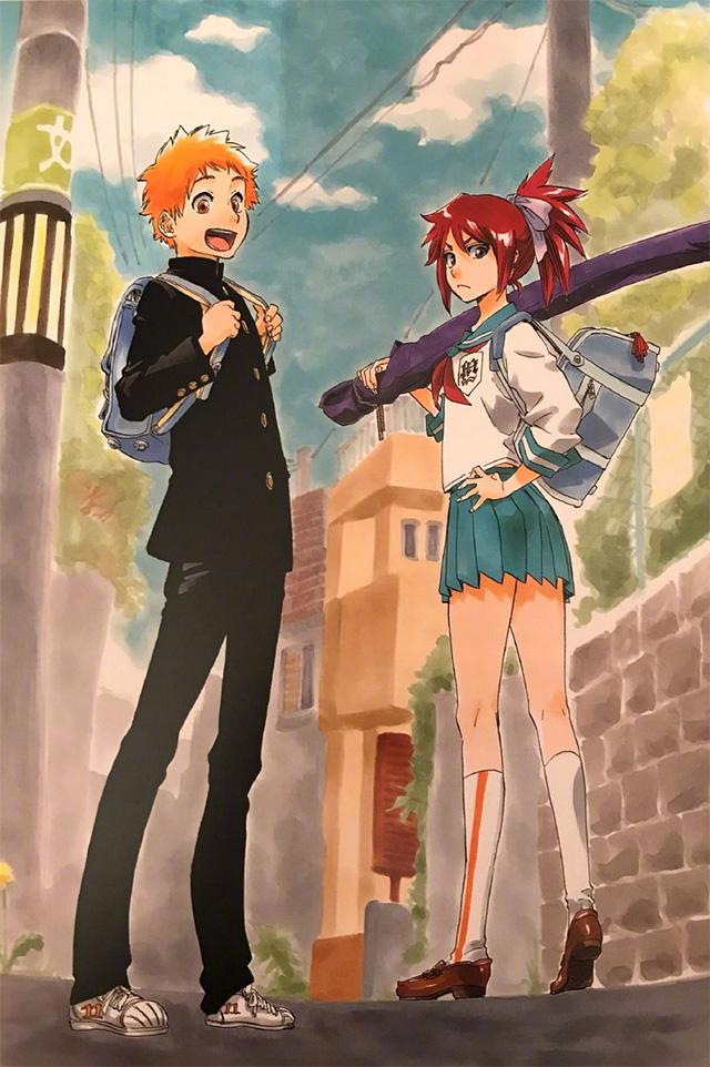 Bleach | Ilustração revela visual adolescente dos filhos de Ichigo e Rukia