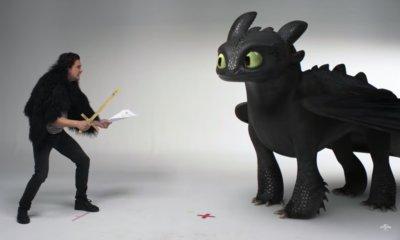 Como Treinar o Seu Dragão 3 ganha vídeo com Kit Harington e Banguela