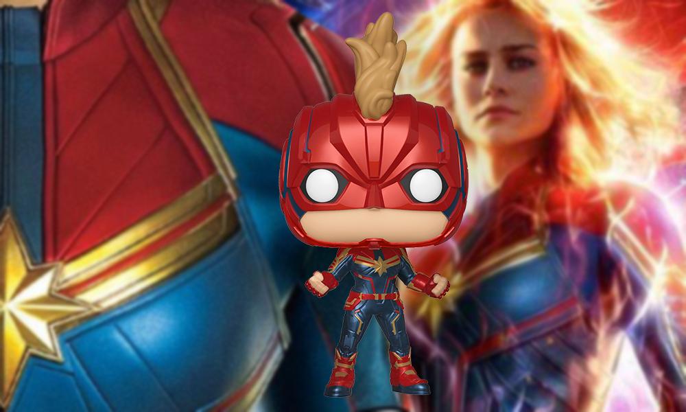 Funko Pop ganha novos colecionáveis do filme de Capitã Marvel