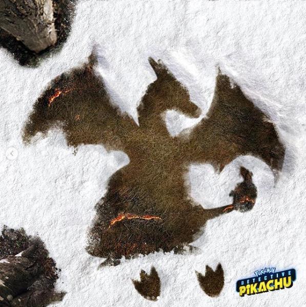 Detetive Pikachu | Brincadeira na neve é destaque em imagens promo de Natal
