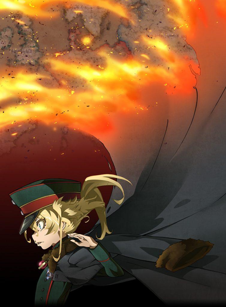 Saga of Tanya the Evil   Revelado trailer e personagens do filme anime