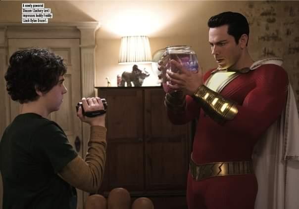 Shazam! | Freddy e Shazam aparecem em nova imagem do filme