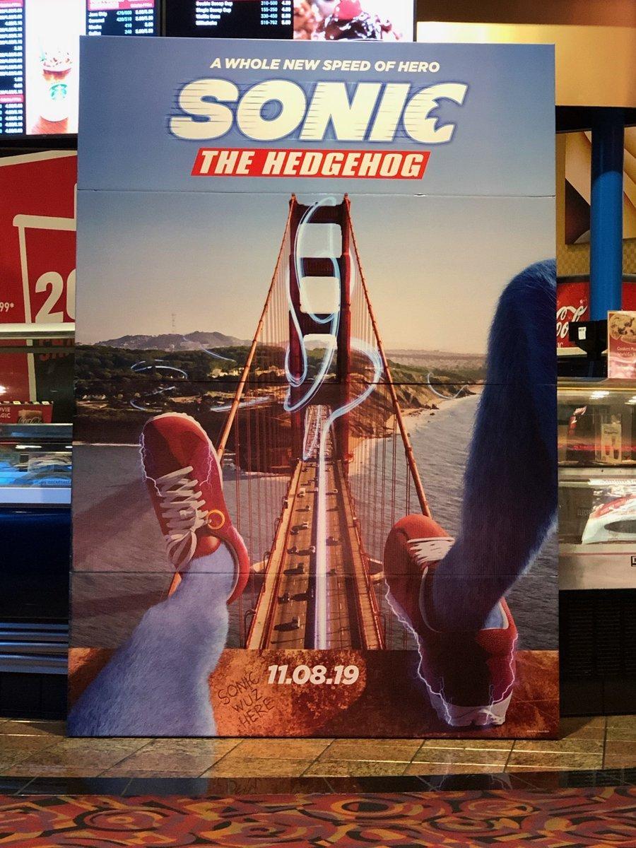 Sonic the Hedgehog | Primeiro poster do live-action é revelado