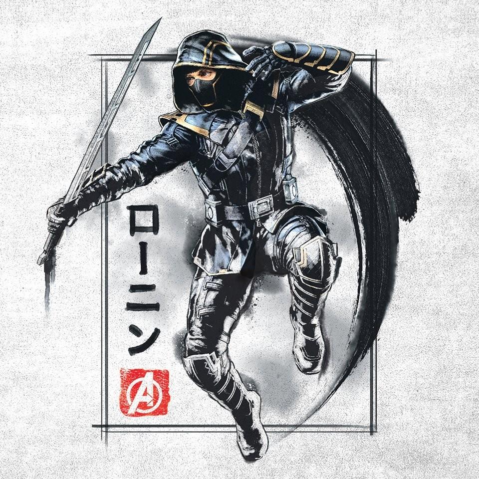 Vingadores: Ultimato | Visual do Gavião Arqueiro como Ronin é revelado
