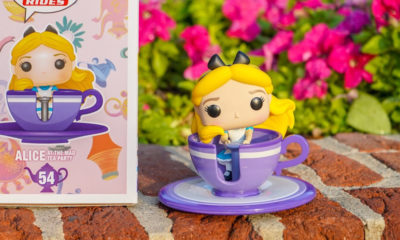 Alice at Mad Tea Party | Funko POP! exclusivo é lançado nos Parques Disney