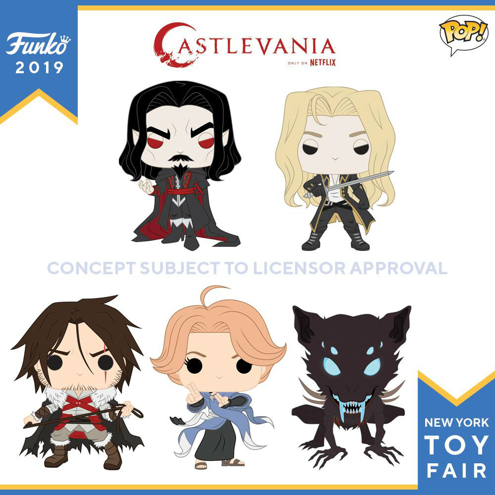 Castlevania   Funko lança figuras POP! dos personagens da série