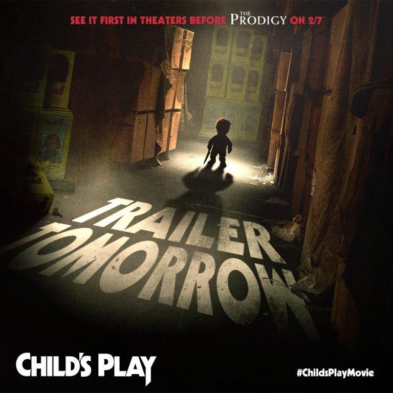 Brinquedo Assassino   Chucky surge em novo cartaz do reboot de Child's Play