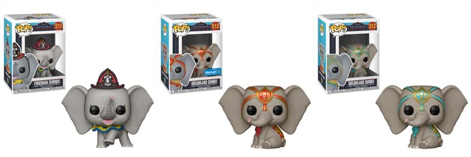 Dumbo | Live-action ganha colecionáveis de vinil da Funko