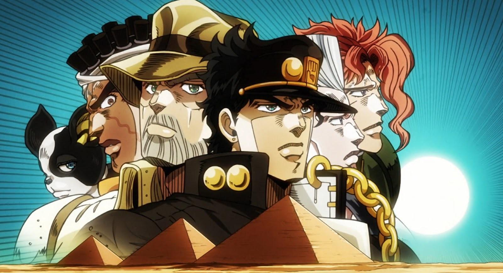 JoJo's Bizarre Adventure | Anime entrará para o catálogo da Netflix