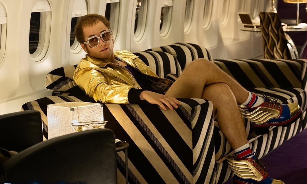 Rocketman | Elton John e Taron Egerton cantam juntos em festa beneficente