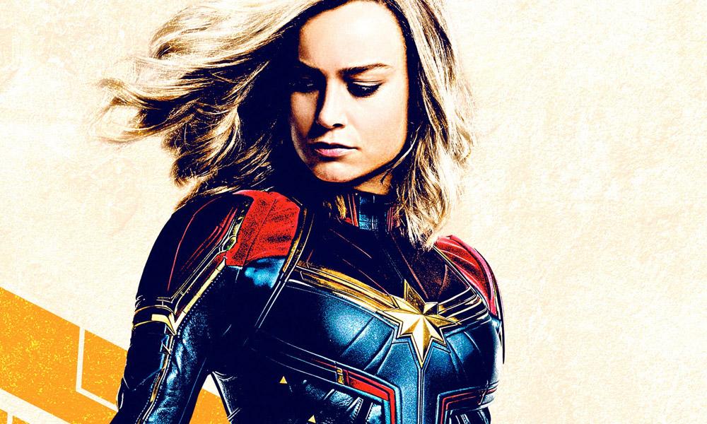 Capitã Marvel ganha 2 novos posteres destacando a heroína. Confira!