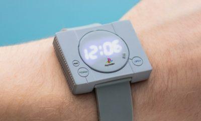 Sony lança relógio nostálgico com referência ao primeiro PlayStation