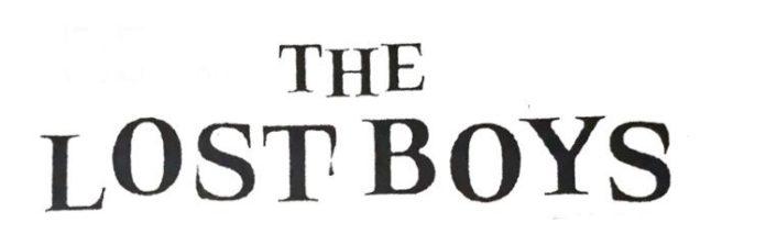 Os Garotos Perdidos   Nova série com Tyler Posey ganha logo oficial