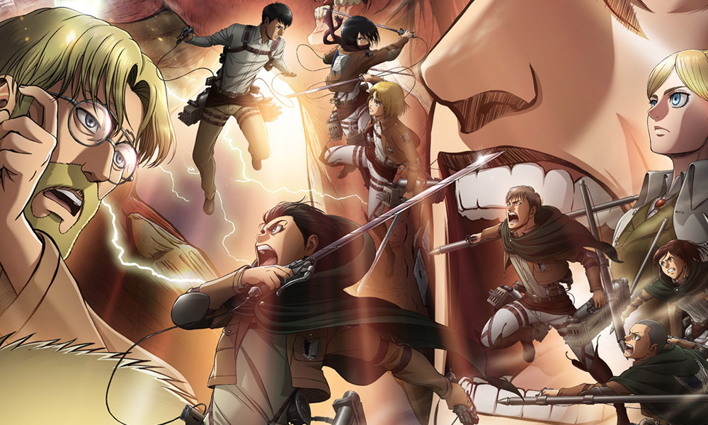 Attack on Titan | Novo poster destaca confronto intenso durante a 2ª parte