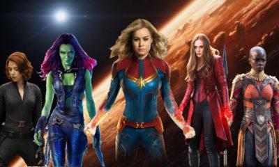Top 5 - Personagens femininas de destaque no MCU