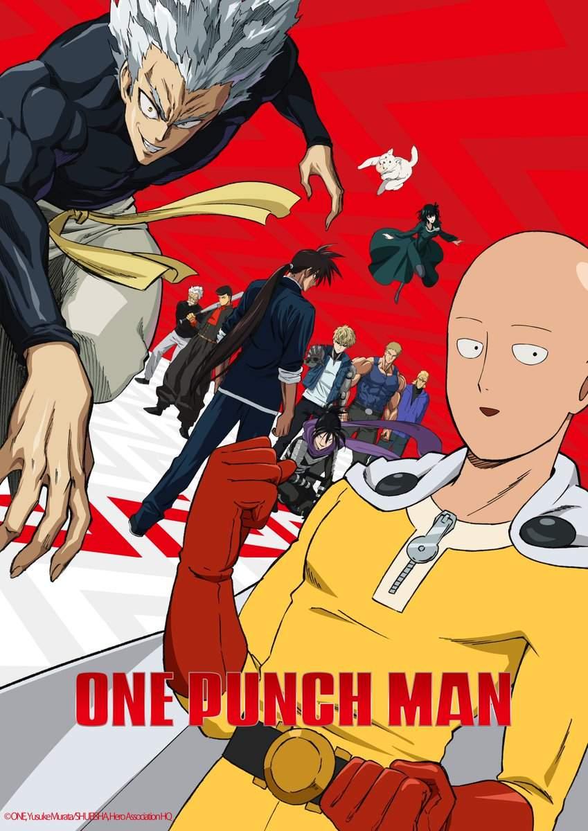 One-Punch Man | Data oficial de estreia da 2ª temporada é divulgada