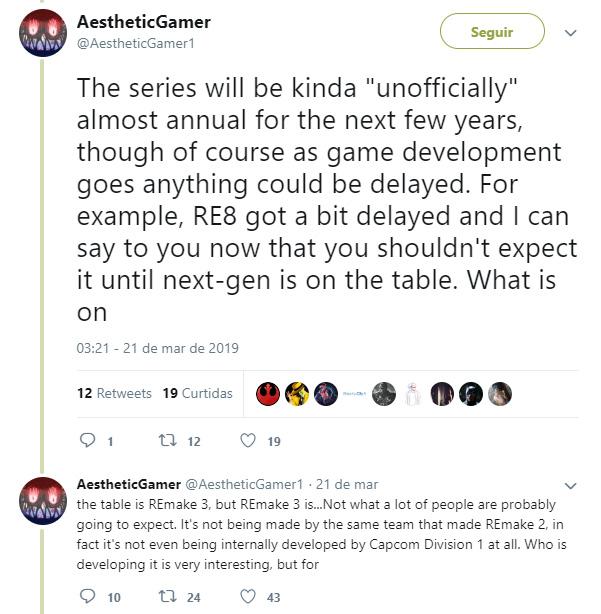 Rumor   Resident Evil 3 Remake já estaria em produção, mas RE 8 foi adiado